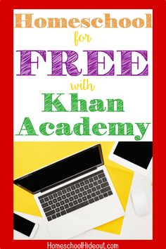 Using Khan Academy in your homeschool is genius! Save time and money and quit arguing with your kids about their school work! Educational Board Games, Educational Websites, Educational Activities, Educational Technology, Curriculum Planner, Homeschool Curriculum, Homeschooling, Educational Youtube Channels, Homeschool High School