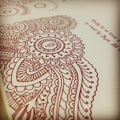 One more! #letterpress #weddinginvitations