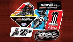 JustAddCoffee- The Homeschool Coupon Mom : Free Harley-Davidson Racing Stickers! Racing Stickers, Free Stickers, Harley Davidson Stickers, Harley Race, Motor Harley Davidson Cycles, Get Free Stuff, Love Is Free, Free Samples, Free Food
