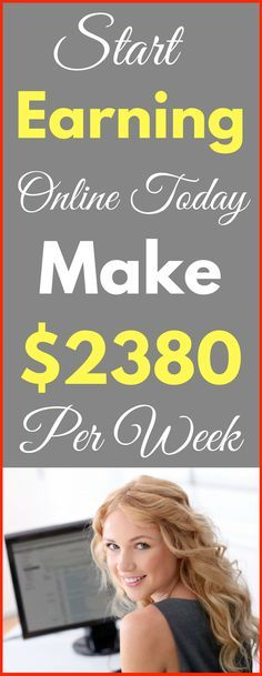 Make money online in 2017. Top 3-ways to earn passive income online from home. Start making $2380 per week with genuine methods. Click to see how >>>