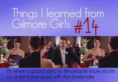 Things I learned from Gilmore Girls