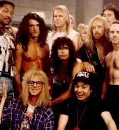 Aerosmith and Wayne's World...what more could you want??