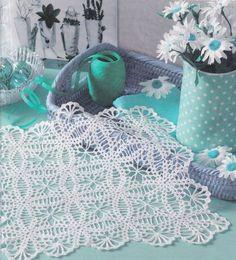 Delicadezas en crochet Gabriela: Centro de mesa-