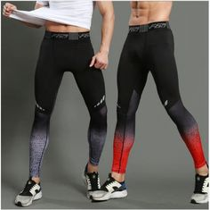 223c521c495 Running Compression Pants Tights Men Sports Leggings Fitness Sportswear  Long Tro