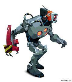 Robot 7 by Matias Hannecke
