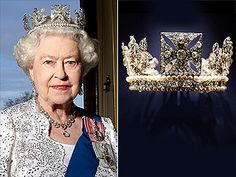 This piece was created way back in 1820 for the coronation of King George IV. Now, people may recognize it from the State Opening of Parliament – Queen Elizabeth wears it in the procession to the event every year. Royal Crown Jewels, Royal Crowns, Royal Tiaras, Royal Jewelry, Tiaras And Crowns, Jewelry Box, Jewellery, Princess Victoria, Queen Victoria