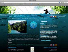 Diseño Garabato Estudio - Asociación de pesca La Gaule Aspoise www.lagauleaspoise.com #web #pesca