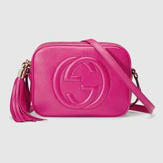 Disco Bag Soho aus Leder Gucci Shoulder Bag, Shoulder Bags, Leather Shoulder  Bag, b46ad9cd4d5