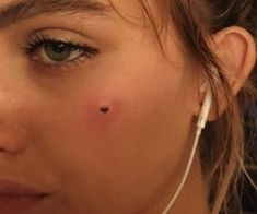 ould you do a tattoo in your face Small Face Tattoos, Face Tattoos For Women, Dainty Tattoos, Mini Tattoos, Body Art Tattoos, Cool Tattoos, Hip Thigh Tattoos, Self Love Tattoo, Grunge Tattoo
