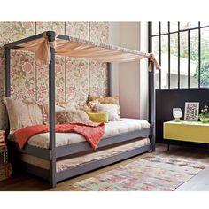 Une chambre d'enfant vintage - 15 jolies chambres d'enfants à copier ! - Elle Décoration