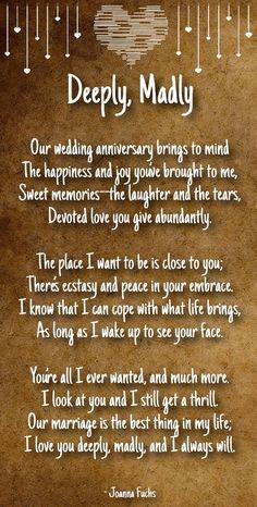 anniversary poems for boyfriend