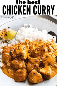This Thai inspired coconut milk curry chicken recipe is full of flavor and made in one pan. It makes a great weeknight dinner that can be ready in about 30 minutes. Whole Chicken Recipes Oven, Cheesy Chicken Recipes, Healthy Chicken Recipes, Healthy Dinners, Turkey Recipes, Coconut Milk Curry, Coconut Curry Chicken, Curried Lentil Soup, Indian Food Recipes