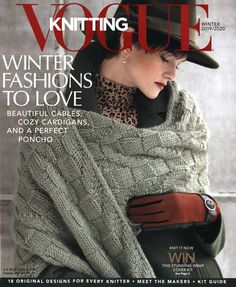 18 designs to knit and wear right now, cardigans, wraps and an amazing poncho. Vintage Crochet Patterns, Loom Knitting Patterns, Crochet Patterns For Beginners, Knitting Tutorials, Stitch Patterns, Vogue Knitting, Knitting Books, Free Knitting, Crochet Round