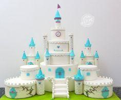 Princess Castle Cake - Cake by Carla Martins