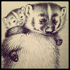 Bedtime for Francis by Russel Hoban, Illustrated by Garth Williams (I now believe that Francis and her family were badgers)