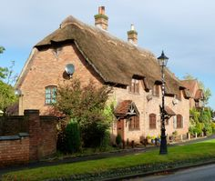 ENGLAND, HOME OF THE MOST BEAUTIFUL THATCHED HOUSES! Thatched House, Charming House, Beautiful Dream, House 2, All Over The World, England, House Styles, Modern, Home