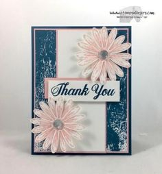Stampin' Up! Colorful & Delightful Daisy Thank You | Stamps – n - Lingers