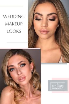 30 Wedding Makeup Looks To Be Exceptional ❤ Well-chosen wedding makeup look can help you expose the good part of your face and make you look your best while you are photographed. #weddings #bridalmakeup #WeddingMakeupLooks #bride