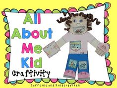 This All About Me Kid - Craftivity is SOOOO CUTE! Kids and parents will love it. Great for 'All About Me' Social Studies units or Open House.
