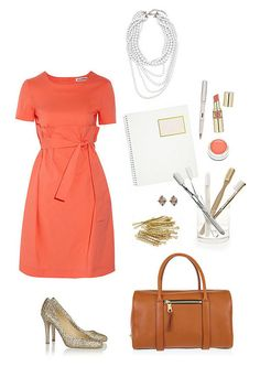 {summer office outfit inspiration : june sunset & bits of gold} by {this is glamorous}, via Flickr