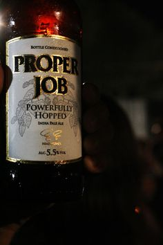 Proper Job - Real Ale by  St Austell, a Cornish Brewery.