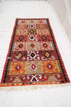 Kilim rug Kilim Vintage kilim rug Turkish by Arzuvintageshop