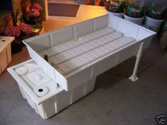 18 best benching systems images greenhouse benches aquaponics rh pinterest com