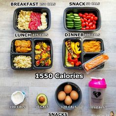 1550 Sample Meal Plan - Another! Lunch Meal Prep, Healthy Meal Prep, Healthy Snacks, Healthy Eating, Healthy Recipes, Diet Recipes, 1600 Calorie Meal Plan, Keto Meal Plan, Diet Meal Plans