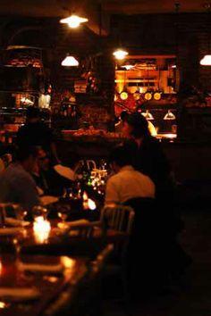 Peasant Restaurant & Wine Bar    194 Elizabeth St.   between Spring St. and Prince St. (Nolita)  New York NY, 10012