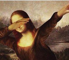 MikeLiveira's Space: Mona Lisa From Alternate Universe 8 La Madone, Mona Lisa Parody, Mona Lisa Smile, Classical Art, Funny Art, Caricature, Art History, Pop Culture, Street Art
