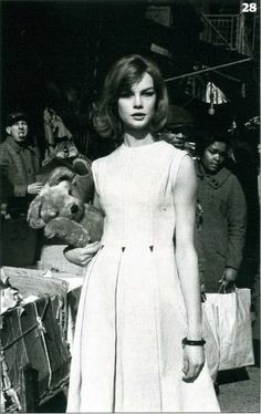 Jean Shrimpton, New York 1962 by David Bailey for British Vogue