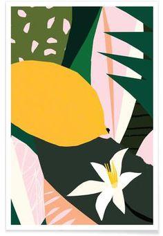 Lemon - Tom Abbiss Smith - Affiche premium