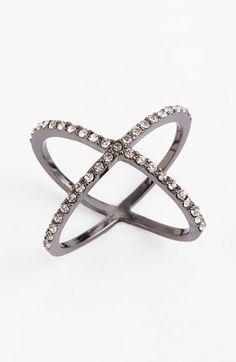 BaubleBar 'Mason' Crystal Ring | Nordstrom