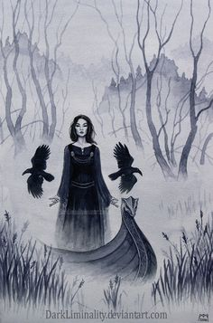 Three Ravens by *DarkLiminality on deviantART