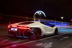 The Lamborghini Huracan was debuted at the 2014 Geneva Motor Show and went into production in the same year. The car Lamborghini's replacement to the Gallardo. Supercars, Lamborghini Centenario, Super Sport Cars, Lamborghini Huracan, Bugatti, Latest Cars, Performance Cars, Expensive Cars, Car In The World