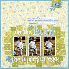 Woven Background Easter Page