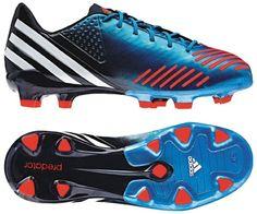 Adidas Predator LZ TRX FG Soccer Shoes Mens Soccer Cleats, Soccer Gear, Soccer Shoes, Adidas Predator Lz, Trx, Navy And White, Blue, Fashion, Football Boots