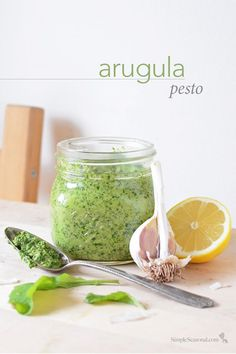 Arugula Pesto - This light and tasty pesto overflows with early-season ...