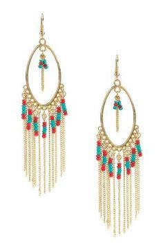 Zenith Beaded Earrings