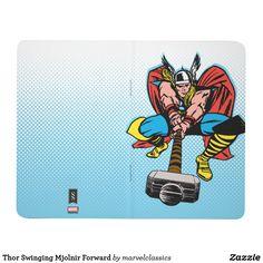 Thor Swinging Mjolnir Forward