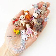 Mini's! #crochet #amigurumi