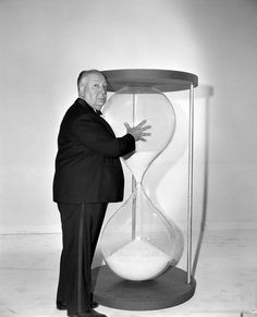 "Promotional photograph for ""The Alfred Hitchcock Hour"" from 1962"