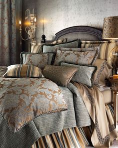Bella Bed Linens, King by Legacy Home at Neiman Marcus.