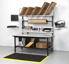 Workstation for packing area in Warehouse