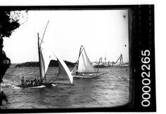 Yachts sailing near Garden Island Sidney   Flickr - Photo Sharing!