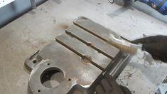 Станина сверлильного станка НС-Ш, с Т-образными пазами. Инструменты