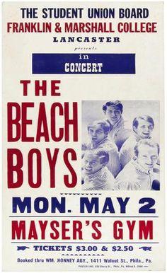 Beach Boys - Mayser's Gym - Mini Print