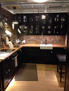 Black #kitchen #cuis