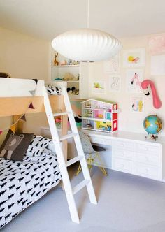 8 Great Ideas For Decorating With Bunk Beds- creative + kid-friendly