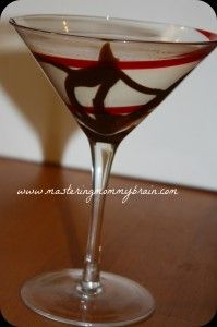 Cookie Martini Holiday Drink with Godiva Vodka, Bailey's  Peppermint Schnapps